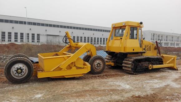 国机重工(洛阳)公司液压铲运机研制成功