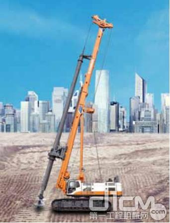 高端技术铸造经典 中联重科ZR420A型旋挖钻机