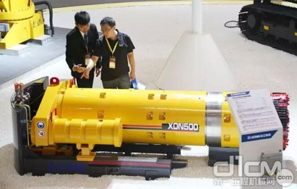 徐工XDN泥水平衡顶管机批量发往宝岛台湾