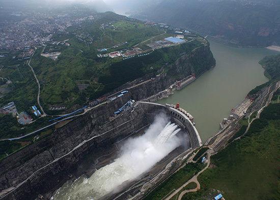 溪洛渡水电站工程是继三峡之后,我国第二,世界第三大水电站工程,也是