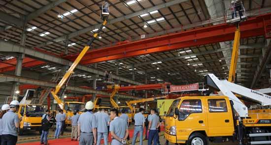 迈入新征程 柳工车载式高空作业车正式批量上市销售