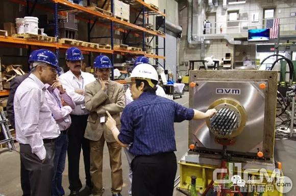 欧维姆拉索锚具组件在美国完成疲劳试验和拉伸试验