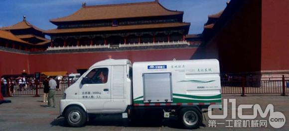 宇通重工新能源环卫产品惊艳亮相北京城