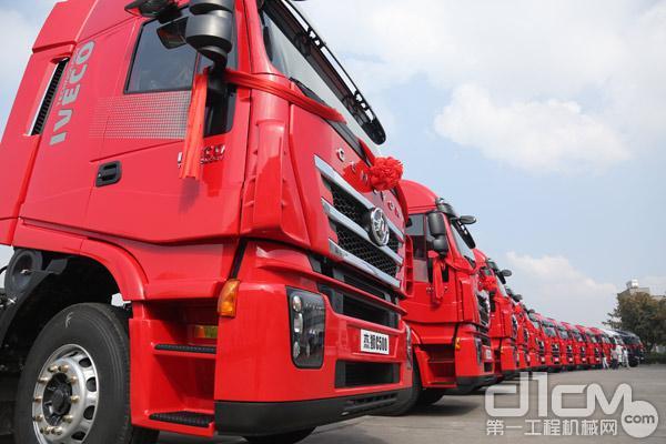 这标志着红岩汽车成功完成了产品的全面升级,实现从7-13升发动机,功