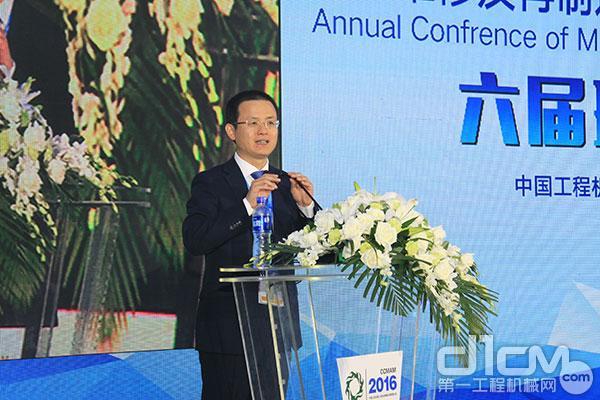 中国工程机械工业协会维修及再制造分会分会副会长、秘书长李志勇