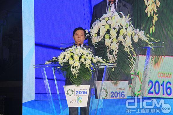 中国工程机械工业协会维修及再制造分会副会长、蚌埠市行星工程机械有限公司总经理姚爱民提交候选名单