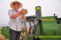 中联重科谷王TC80小麦机技术升级