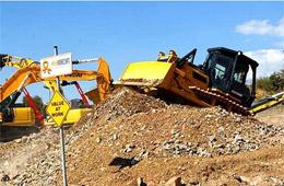 山推CE型推土机现场签单保加利亚展会