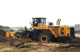 GTL550轮式推土机完成试制