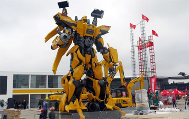 雷沃工程机械装载机、挖掘机亮相2016上海宝马展