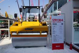 三一STR130-6压路机