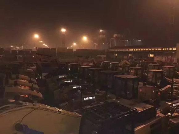 三一百余台设备远赴巴基斯坦