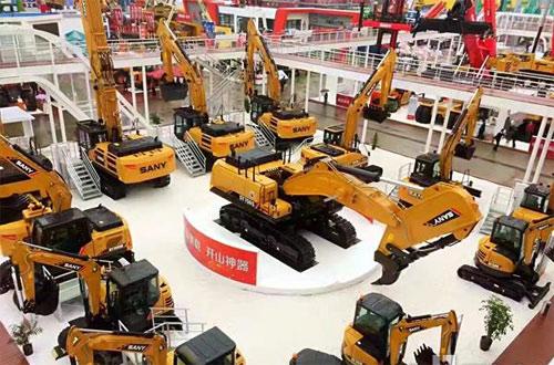 三一重载系列挖掘机及旋挖钻机全球上市