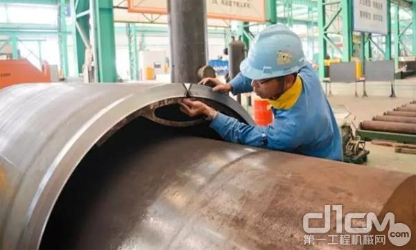大明重工配套服务埃及国家电厂调压系统项目