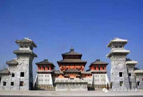 徐州云龙区汉文化景区旅游服务中心项目
