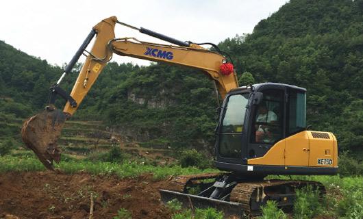 客户超值需求徐工D系列液压挖掘机全面上市