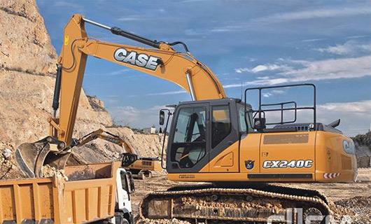 凯斯全新CXC系列挖掘机登陆中国