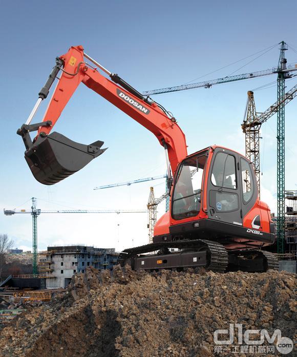 小挖中的新王者 斗山DX88-9C小型挖掘机导购