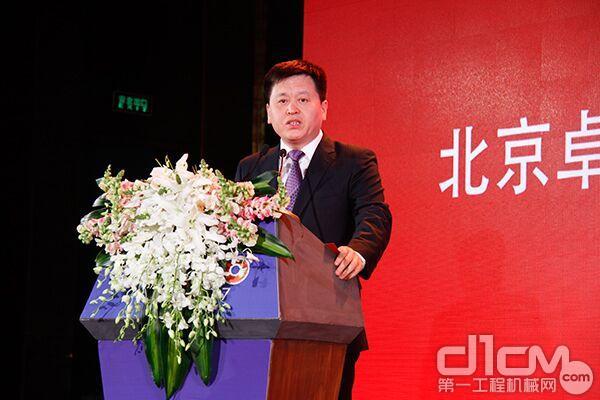 杜海涛:TOP50为提升中国工程机械产品整体水平助力