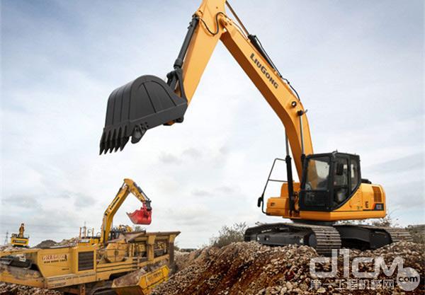 高效又节能  柳工CLG922E(国三)中型挖掘机值得拥有!