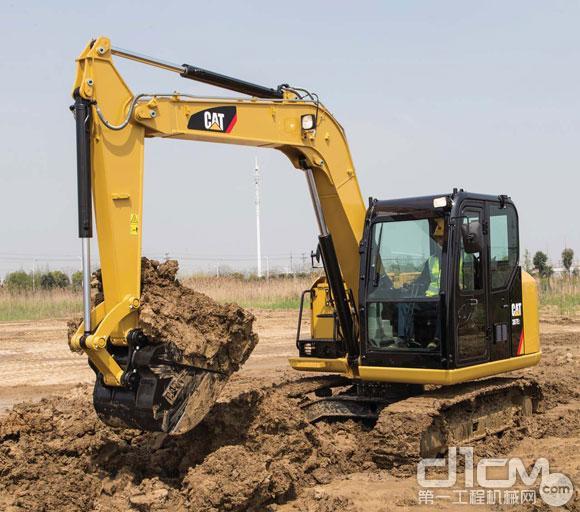 高性能与灵动兼备 卡特彼勒E系列307E2小型挖掘机导购