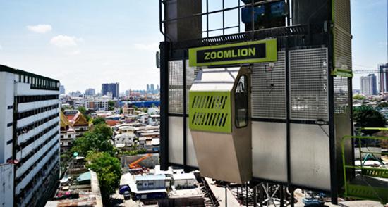 中联重科助建泰国地标摩天楼 曼谷绽放极光绿