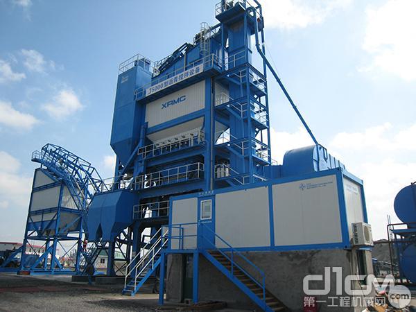 中交西筑J5000型沥青混合料搅拌设备导购