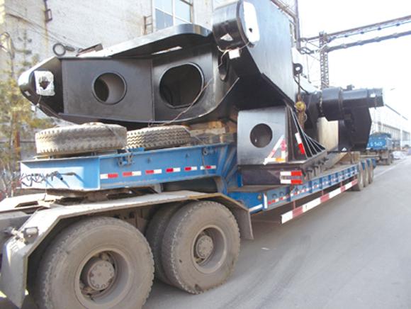 国内首台45立方米挖掘机诞生太重