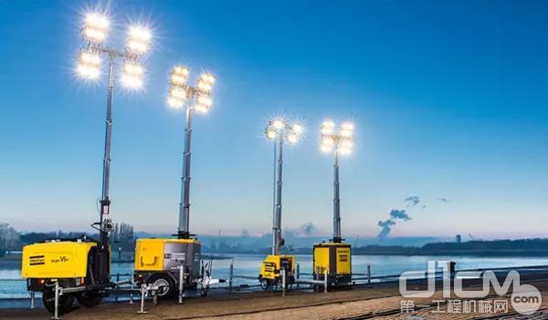 【用户案例】阿特拉斯•科普柯移动照明灯车夜间施工全靠它