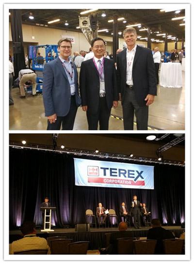 常林参加Terex供应商会