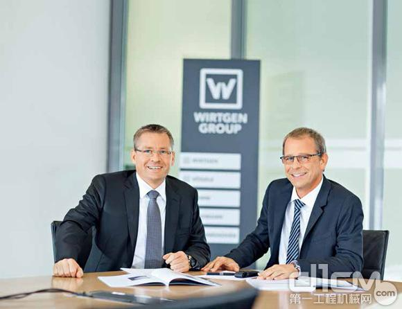 维特根集团 Stefan Wirtgen和Jürgen Wirtgen 先生