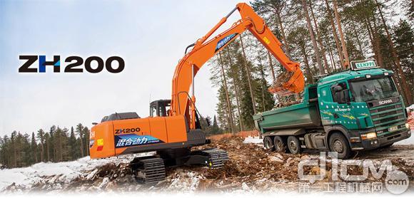视频:节能又环保 日立ZH200-5A混合动力挖掘机就是不一样
