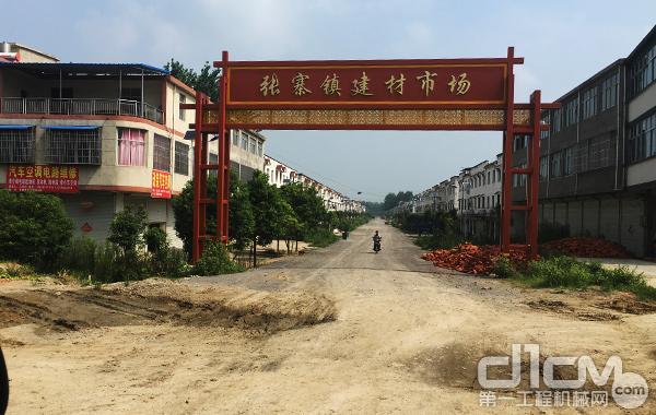 待改建的乡村道路
