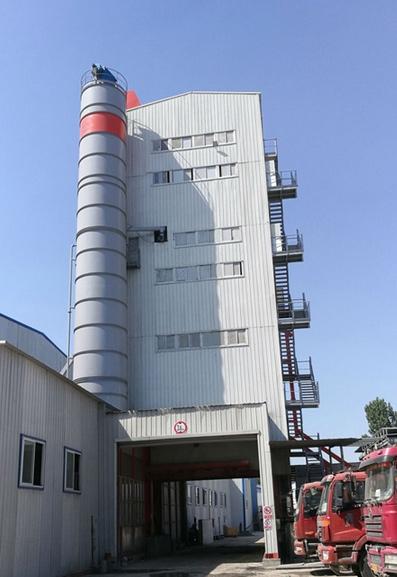 德基机械环保5000型沥青搅拌设备落户开封