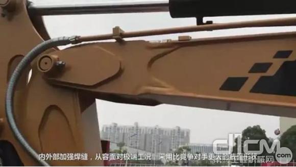 SY35U小挖的结构件加强设计,皮实耐用故障少