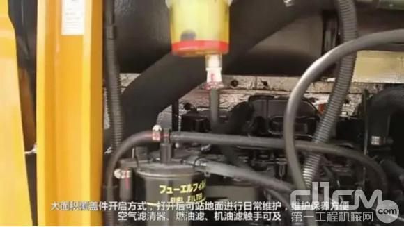 三一SY35U的维修保养方便又快捷