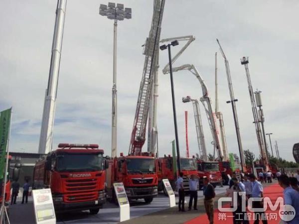 中联重科多款消防装备惊艳亮相CHINA FIRE 2017