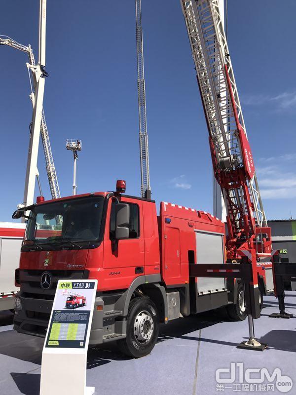 中联重科YT53直臂云梯消防车