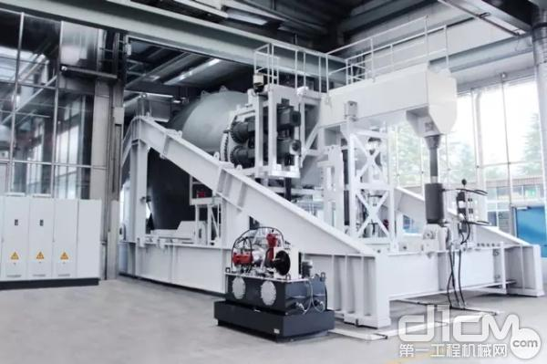 利勃海尔主轴承大型试验台