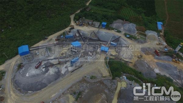 桂林市灵川县独石山采石场