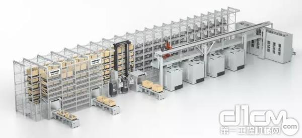 托盘装卸系统 PHS 1500
