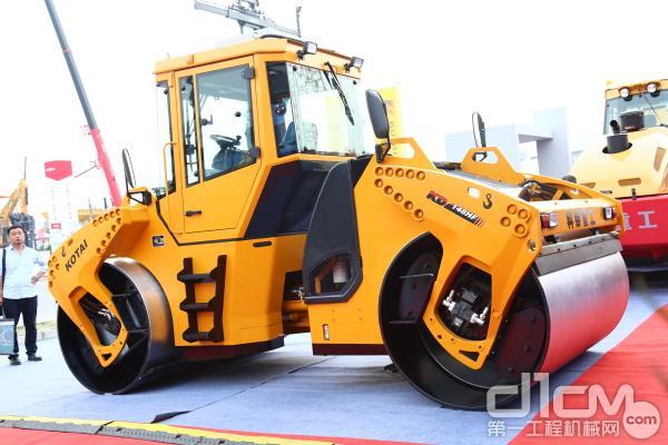 科泰KD138HF双钢轮压路机