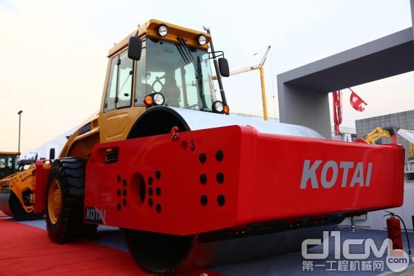 科泰KS366HD单钢轮压路机