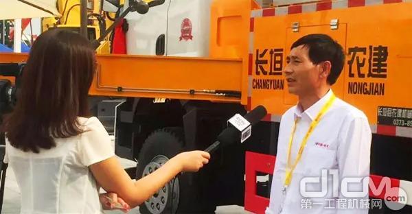 总经理李敬光接受央视媒体采访