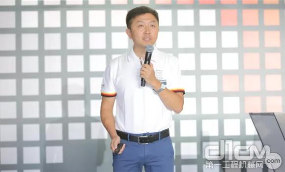 维特根中国高级产品经理韩海红先生