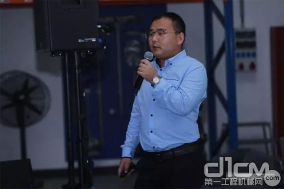 金科资源再生股份有限公司董事会秘书朱献峰先生演讲