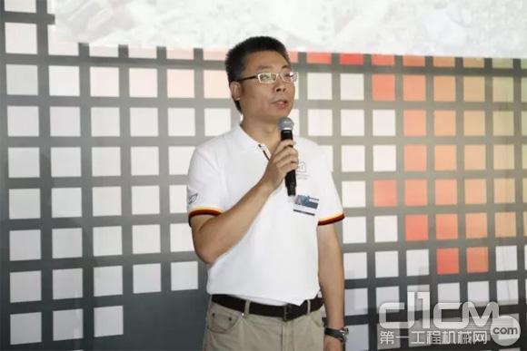 克磊镘高级产品经理林岩松先生演讲