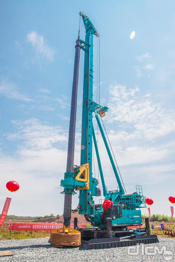 山河智能SWDM600W步履式旋挖钻机