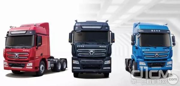 徐工重卡行业第一单:300台lng牵引车隆重发车