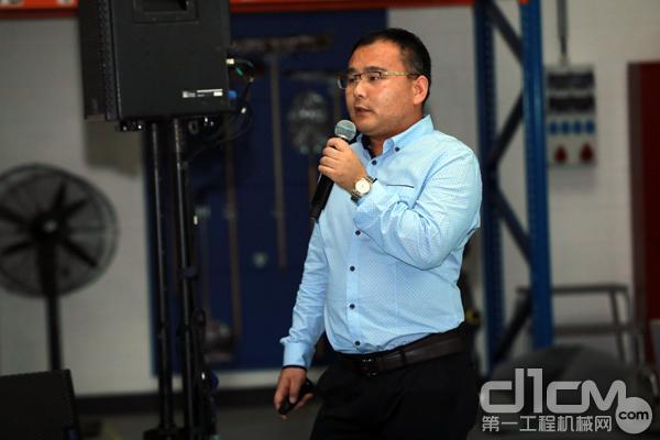 许昌金科资源再生股份有限公司董事会秘书朱献峰演讲